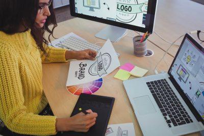 identidade visual de uma empresa